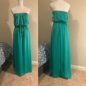 Tiffany Blue Maxi Dress